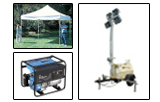 Party Equipment, Generators and Lighting Rentals in Westminster MD